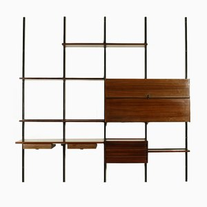 Wall-Mounted Bookcase by Borsani for Tecno, 1960s