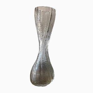 Vaso in vetro di Murano chiaro, anni '60