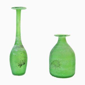 Vases Scavo par Gino Cenedese pour Cenedese, 1960s, Set de 2