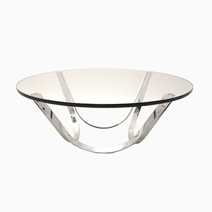 Table Basse Mid-Century Moderne par Werner Linder pour Bacher, 1969