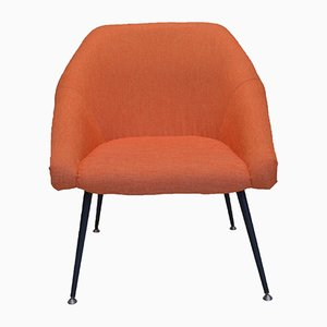 Orange Polish EVA Shell Armchair, 1970s