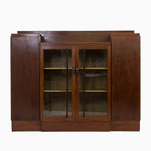 Hague School Bookcase by J.C.Jansen for L.O.V, 1920s