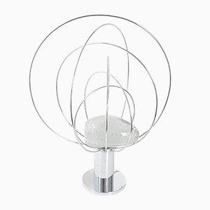 Lámpara de mesa era espacial vintage de Angelo Brotto para Fase, años 70