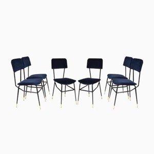 Chaises de Salon Mid-Century de BBPR, Set de 6