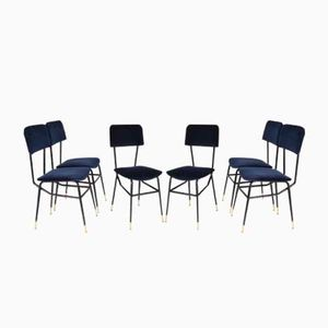 Mid-Century Italian Dining Chairs from BBPR, Set of 6