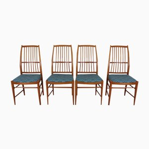 Mid-Century Napoli Chairs by David Rosén for Nordiska Kompaniet, Set of 4