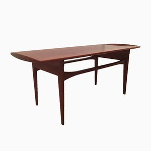Mid-Century Danish Teak Coffee Table by Tove & Edvard Kindt-Larsen for France & Daverkosen