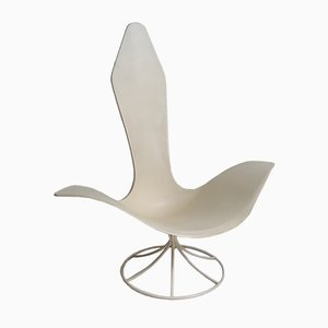 Vintage Tulip Armchair by Erwine & Estelle Laverne for Laverne International