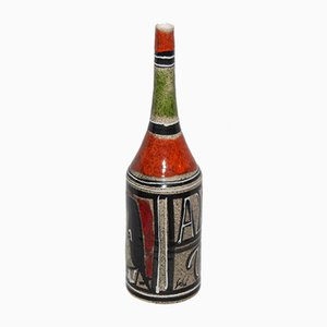 Keramikflasche von Georges Gehel, 1970er