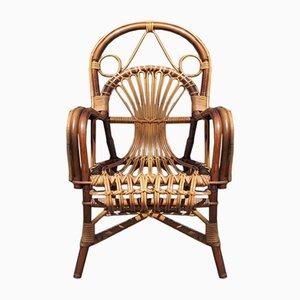 Chaise pour Enfants Peacock Vintage en Bambou