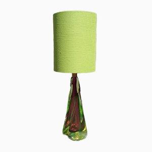Mid-Century Murano Glas Tischlampe