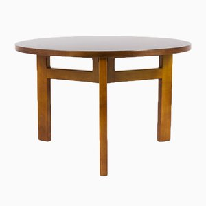 Mid-Century French Round Dining Table by Andre Sornay, 1950s