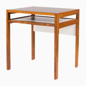 Kleiner Schreibtisch mit Laminat in Schwarz & Weiß von Andre Sornay, 1950s