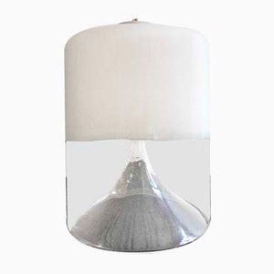 Lámpara de mesa italiana vintage de vidrio de Carlo Nason para Mazzega, años 70