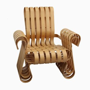 Power Play Chair by Frank O. Gehry for Knoll International, 1993