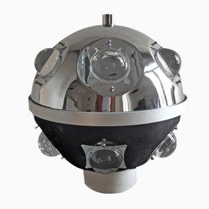 Lámpara de mesa italiana era espacial de Oscar Torlasco para Stilkronen, años 70