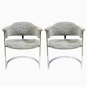 Italian Mid-Century Small Armchairs, 1965, Set of 2