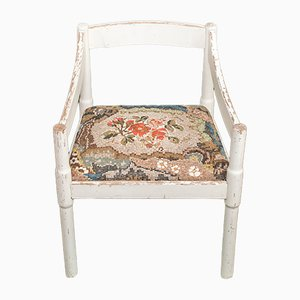 Weißer Stuhl mit Mosaik Polsterung von Yukiko Nagai, 2013
