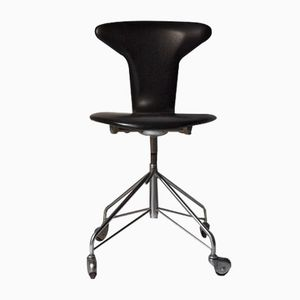 Mid-Century Mosquito Desk Chair by Arne Jacobsen for Fritz Hansen
