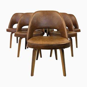 Sedie esecutive vintage di Eero Saarinen per Knoll, set di 6