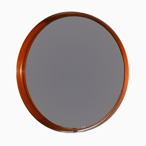 Swedish Mirror by Uno & Östen Kristiansson for Luxus, 1950s