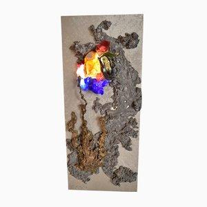 Aplique escultural de Dargenke, años 70