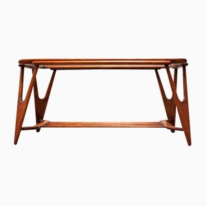Mid-Century Italian Coffee Table by Cesare Lacca for Cassina, 1950s