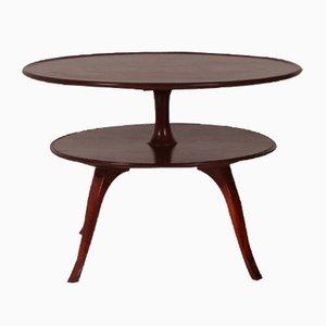 Tavolino da caffè circolare a due livelli di Fritz Henningsen, 1932