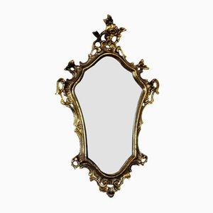 Espejo vintage de bronce