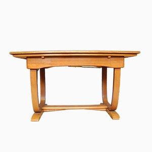 Table Basse Style Art Déco Extensible, 1940s