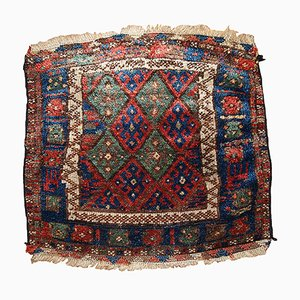 Middle Eastern Bag Face Rug, 1880s