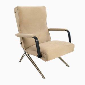 Poltrona vintage reclinabile di Giulio Moscatelli per Formanova