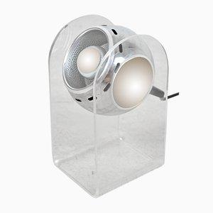 Lampada da tavolo sferica di Gino Sarfatti per Arteluce, anni '60