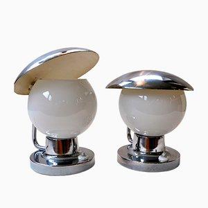 Lámparas de mesa de Josef Hurka para Napako, años 50