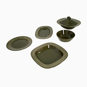 Service Earthenware par Antonia Campi, 1965, Set de 5