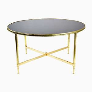 Vintage French Bronze Coffee Table, 1970s
