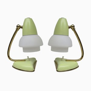 Italian Bedside Table Lamps, 1950s, Set of 2