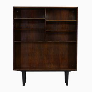 Vintage Danish Mahogany Shelving Unit from Omann Jun