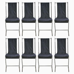 Dining Chairs by Pierre Cardin for Maison Jansen, 1970s, Set of 8
