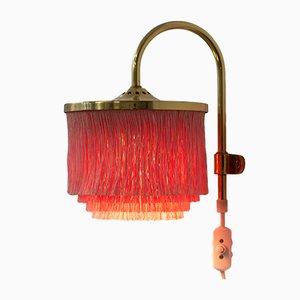 Lampe à Suspension Vintage à Franges par Hans-Agne Jakobsson, 1960s