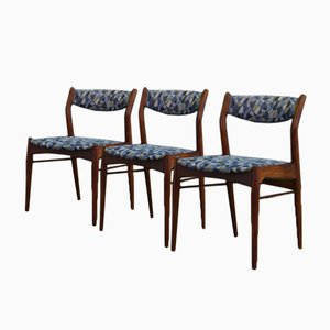 Mid-Century Teak Chairs, Set of 3