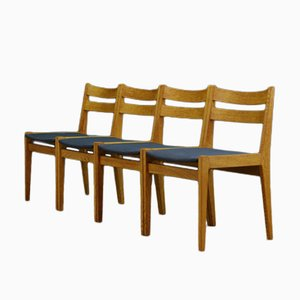 Mid-Century Danish Ash Chairs, Set of 4
