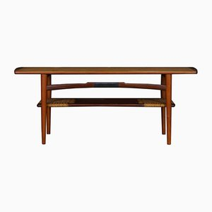 Vintage Danish Teak & Teak Veneer Coffee Table