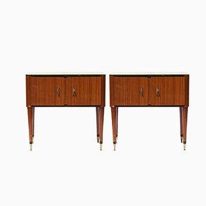 Tables de Chevet, France, 1950s, Set de 2