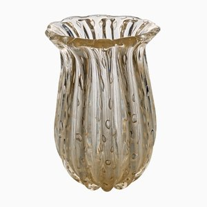 Murano Vase from Fratelli Toso, 1950s