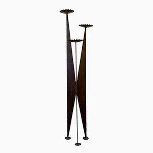 Candelero trípode alto, años 60