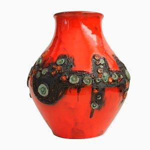 Belgian Mid-Century Vase by Rogier Vandeweghe for Amphora, 1960s