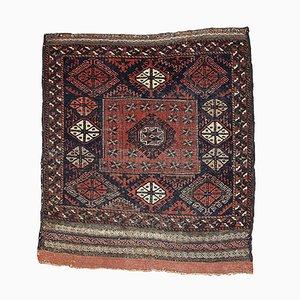 Antique Afghan Baluch Handmade Rug, 1880s