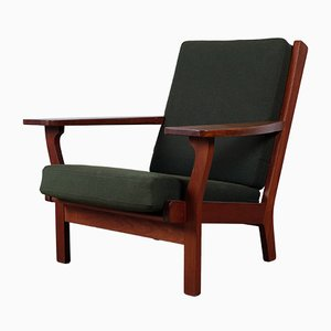 Ge-320 Teak Armchair by Hans J. Wegner for Getama, 1950s