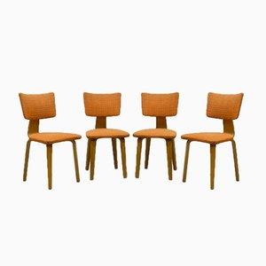 Vintage Esszimmerstühle von Cor Alons für Den Boer, 4er Set